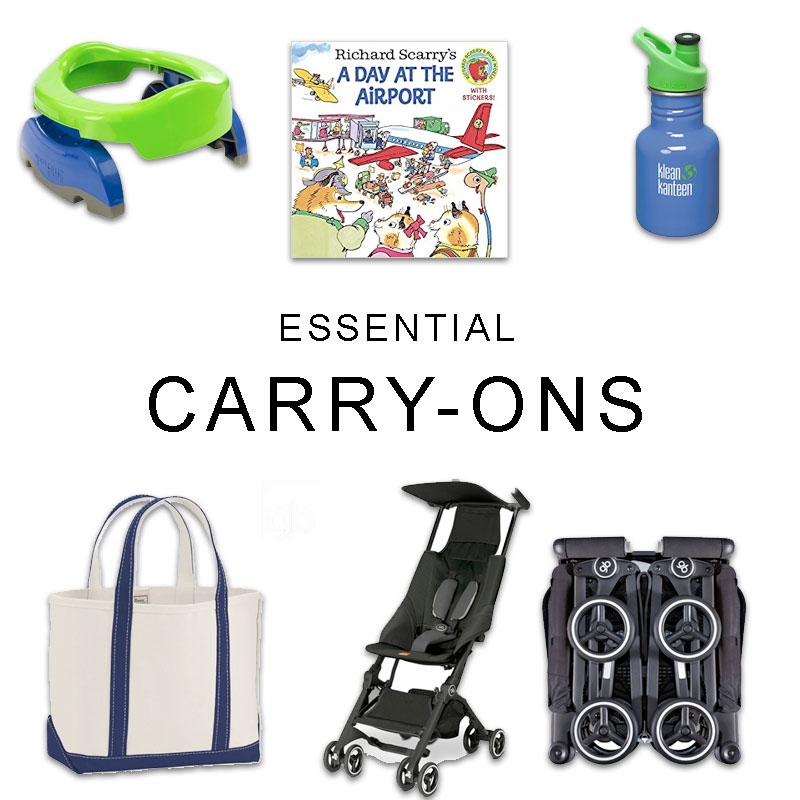 Essential Toddler Travel Carry-ons