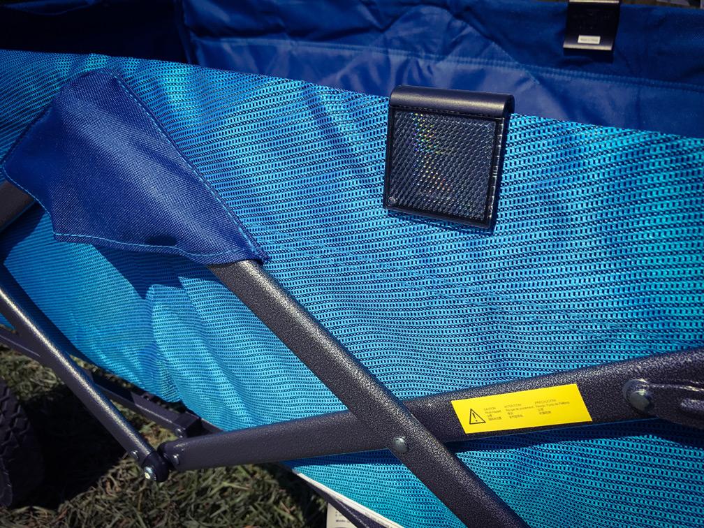 DIY Kid Utility Wagon Mods - Reflector