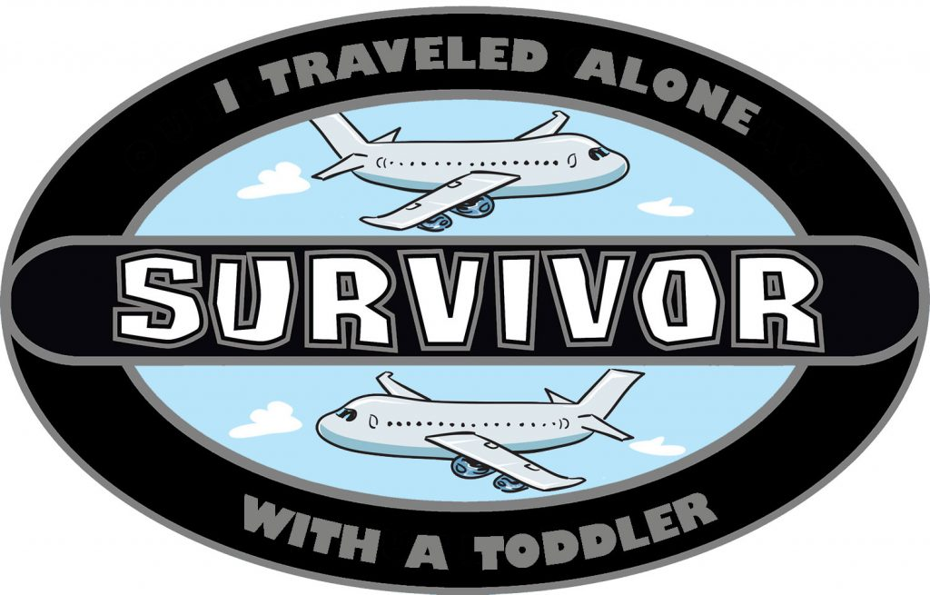 Surviving Traveling with a Toddler Alone