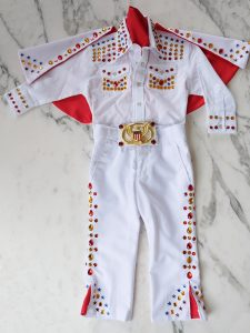 DIY Toddler Elvis Costume