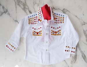 DIY Elivs Shirt for a Toddler