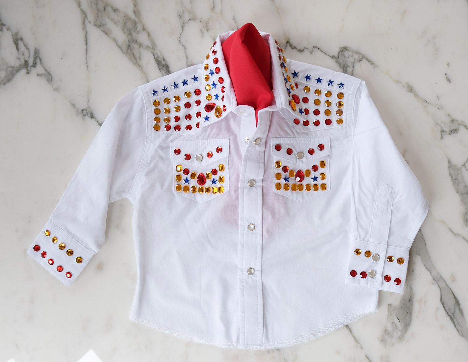 DIY Elivs Shirt for a Toddler