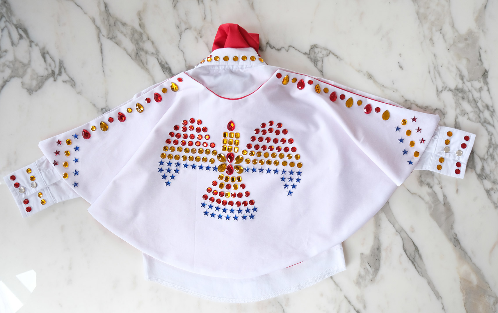 DIY Elvis Cape for a Toddler