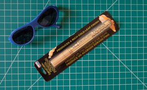 DIY Gold Sunglasses for Toddler