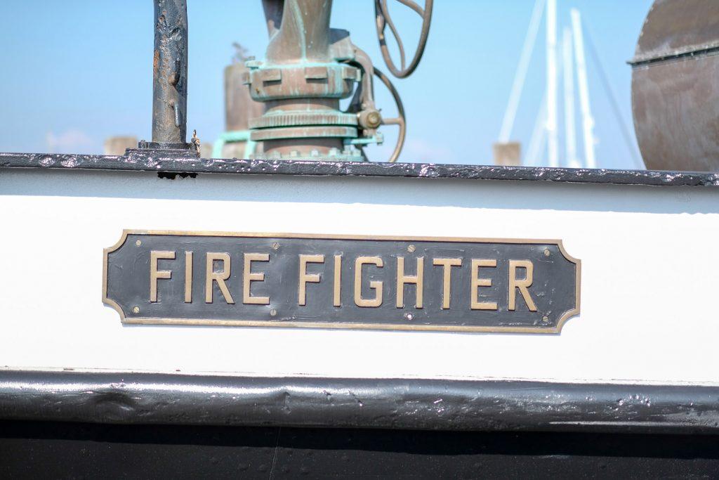 Greenport FireFighter Boat