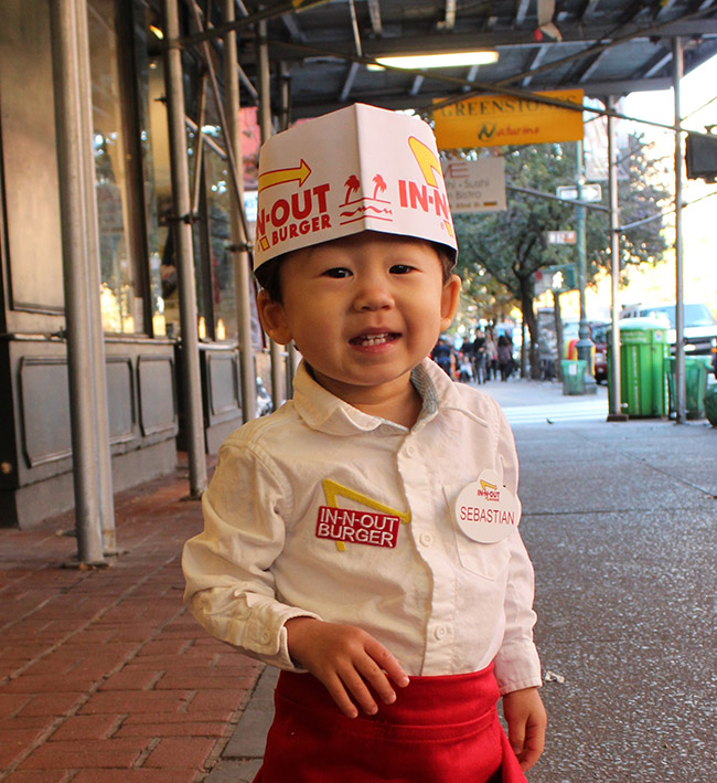 Halloween In-n-Out Toddler Costume