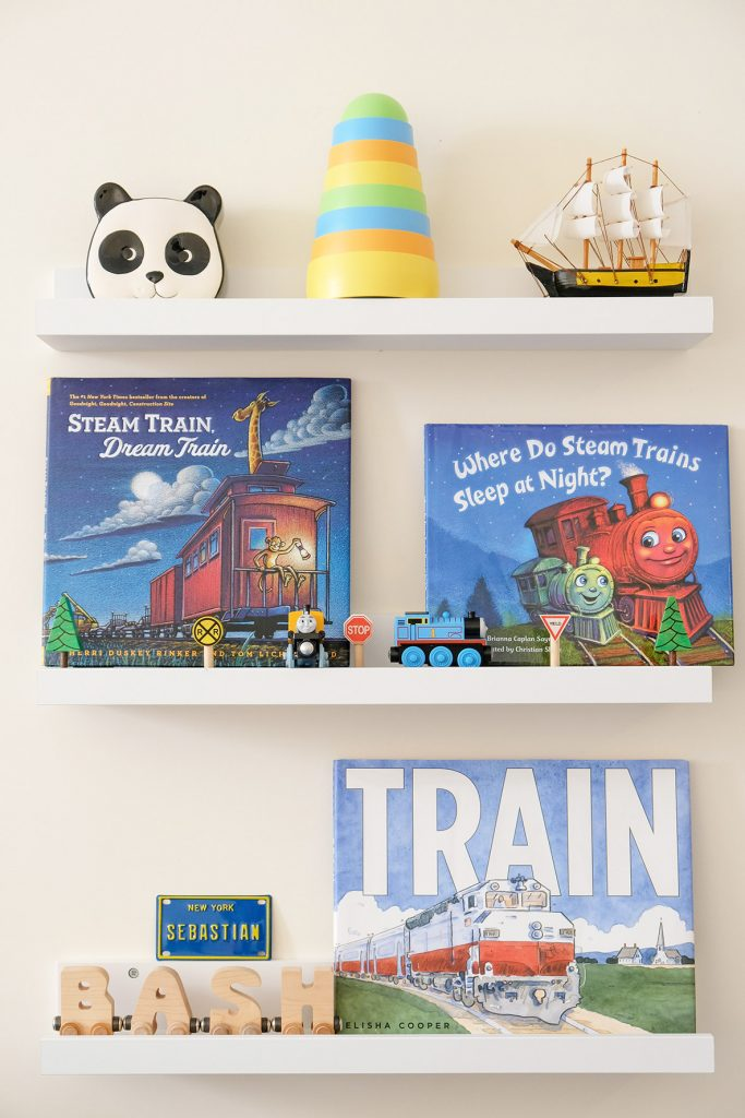 Sunday Shelfie – Our Favorite Train Books for Toddlers
