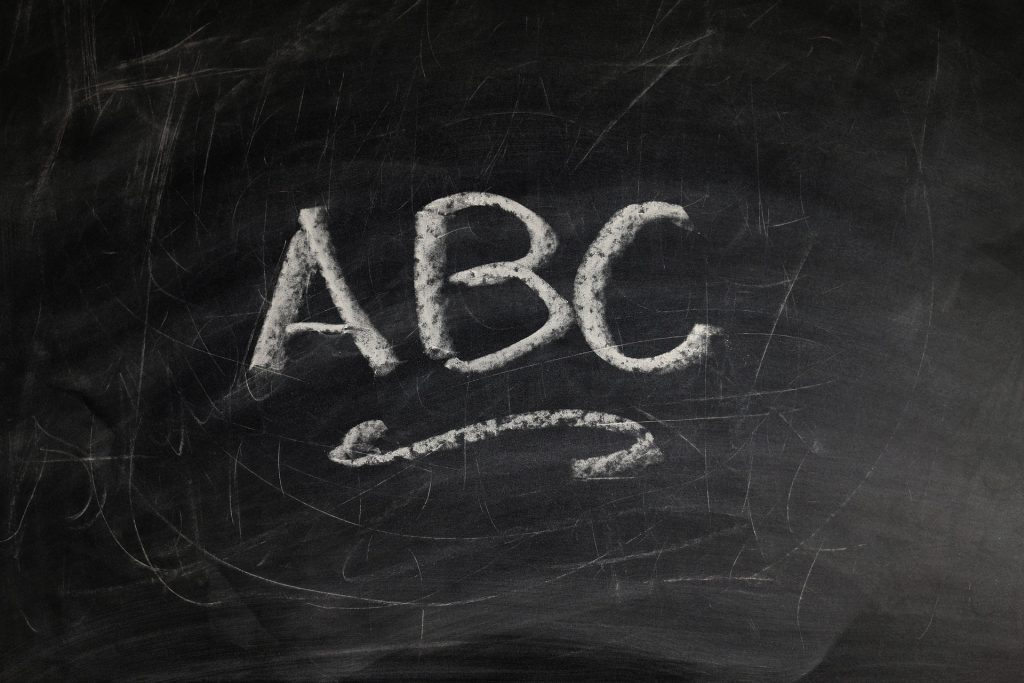 ABC Chalkboard - Preschools