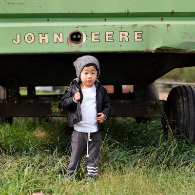 Fall Toddler Fashion on the Farm