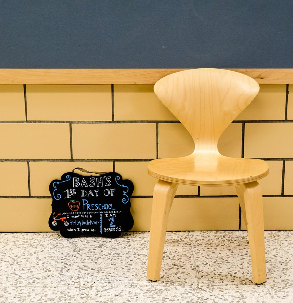 First Day of School - Chair