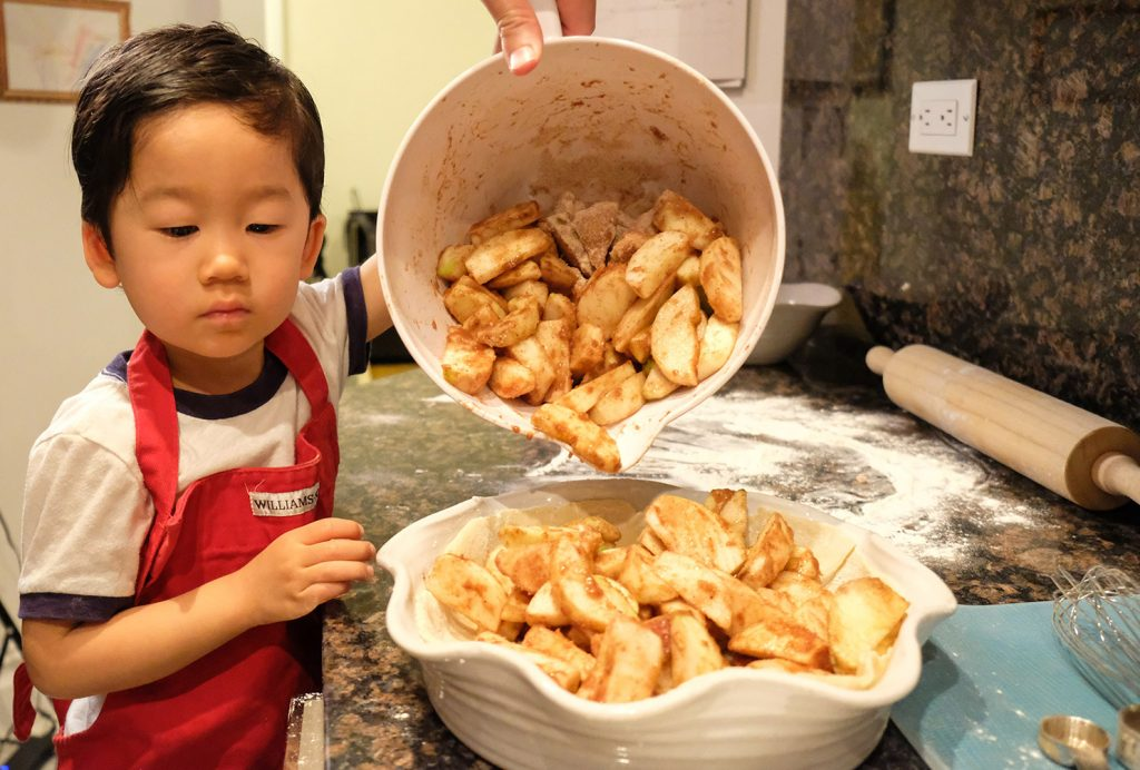 Baking with Toddlers - Apple Pie