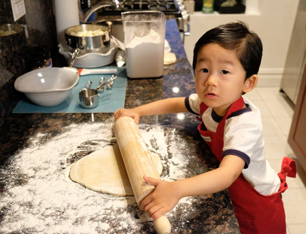 Baking with Toddlers - Rolling Dough