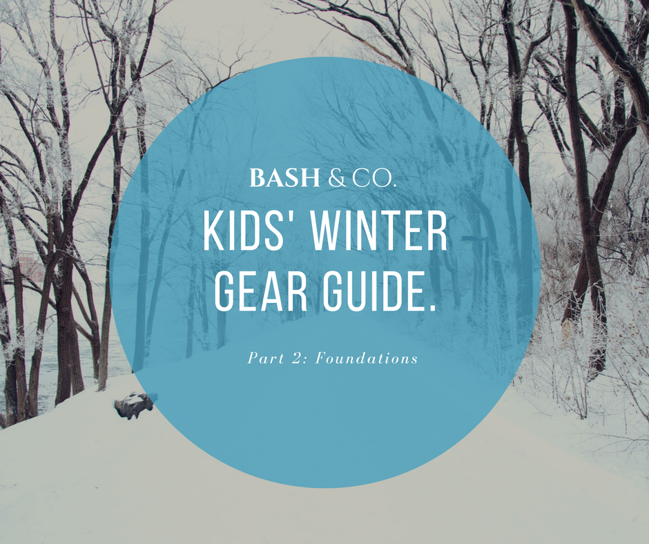 Winter Clothes for Kids - Foundations