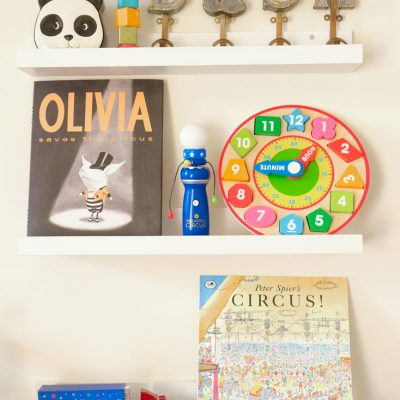 Sunday Shelfie – Fun Circus Books for Kids