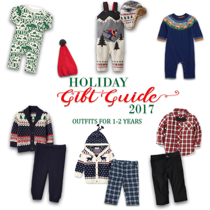 2017 Holiday Gift Guide - Outfits for 1 Year Olds to 2 Year Olds for Him