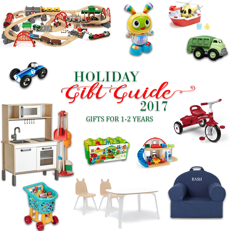 2017 Holiday Gift Guide - Gifts for 1 Year Olds to 2 Year Olds