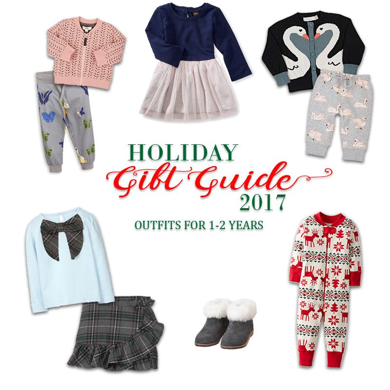 2017 Holiday Gift Guide - Outfits for 1 Year Olds to 2 Year Olds for Her