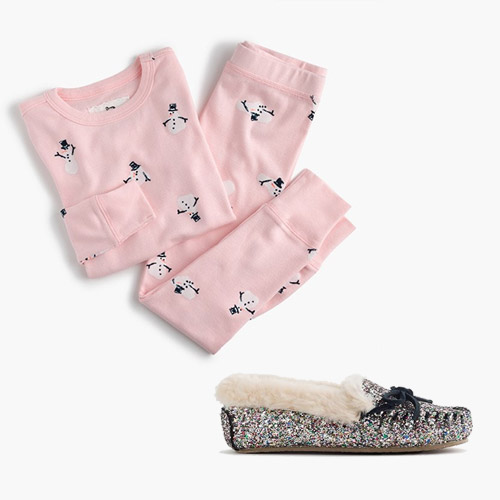 Jcrew Pjs And Slippers