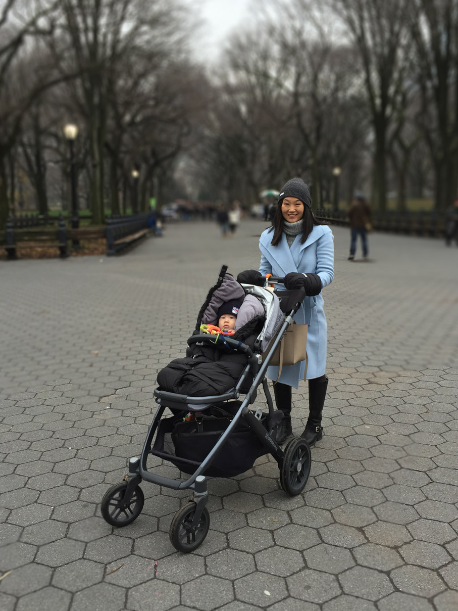 Katie Winter Stroller Central Park