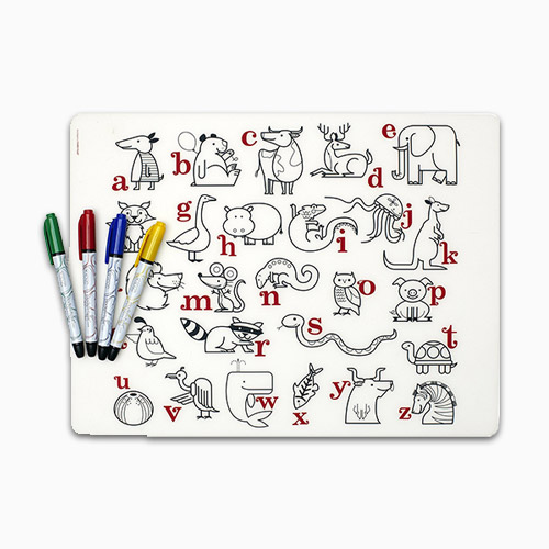 Modern Twist Mark Mat ABC