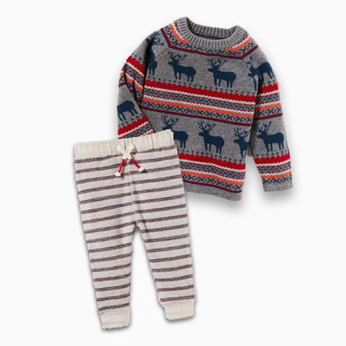 Peek Reindeer Sweater and Pants