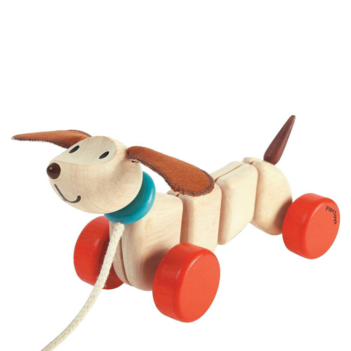 PlanToys Pull Happy Puppy