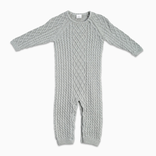 EGG by Susan Lazar Cable Knit Romper