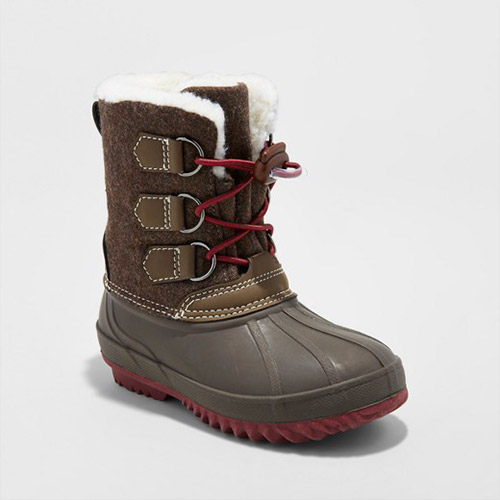Target Boys' Malcom Flannel Winter Boots