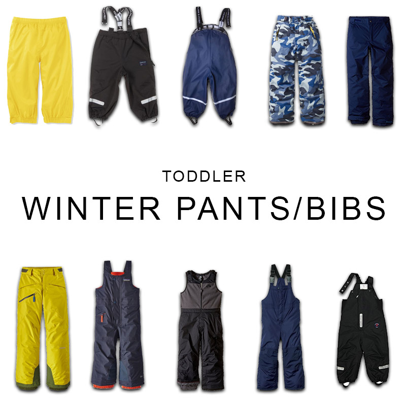 Toddler Winter Pants and Bibs