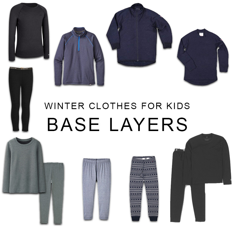 Winter Clothes For Kids - Base Layers