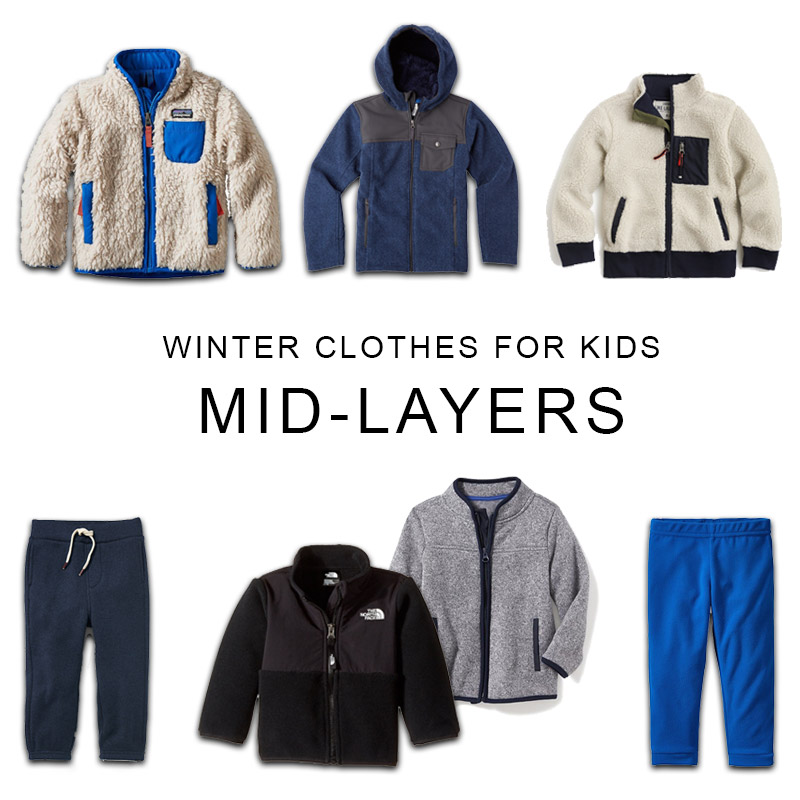 Winter Clothes For Kids Mid Layers