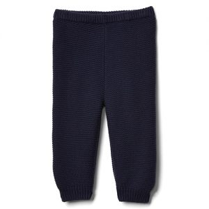 gap blue garter pants