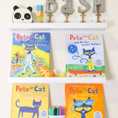 Sunday Shelfie – I Love my Pete the Cat