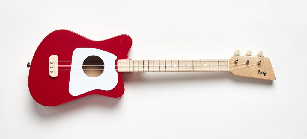 Loog Mini Guitar - Red