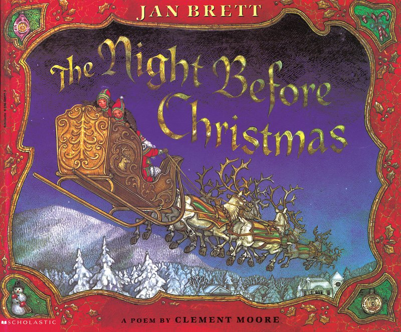 Jan Brett Night Before Christmas