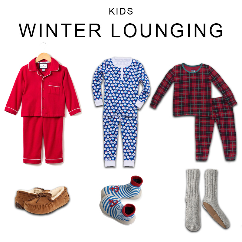 Winter Outfits for Toddler Boys - Kids Winter Lounging Outfits