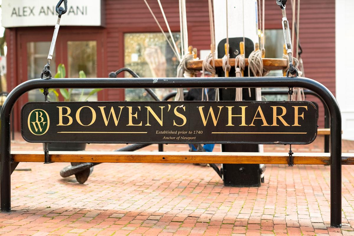 Newport Ri Bowens Wharf