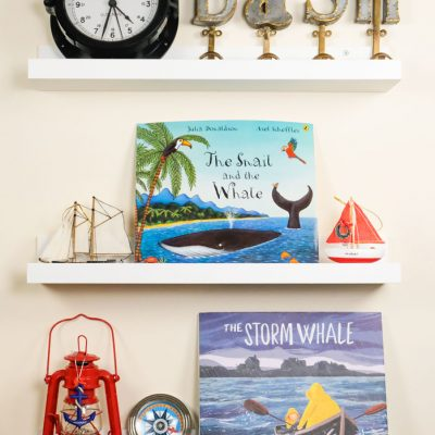 Sunday Shelfie – Our Favorite Whale Tales