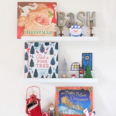 Sunday Shelfie – Christmas Eve Books
