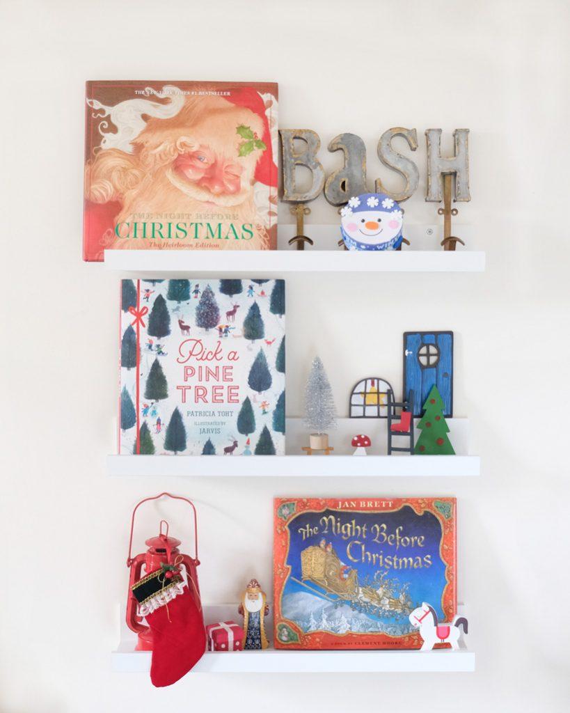 Christmas Eve Books Sunday Shelfie