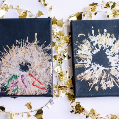 DIY New Year's Crafts – New Year's Eve Fireworks