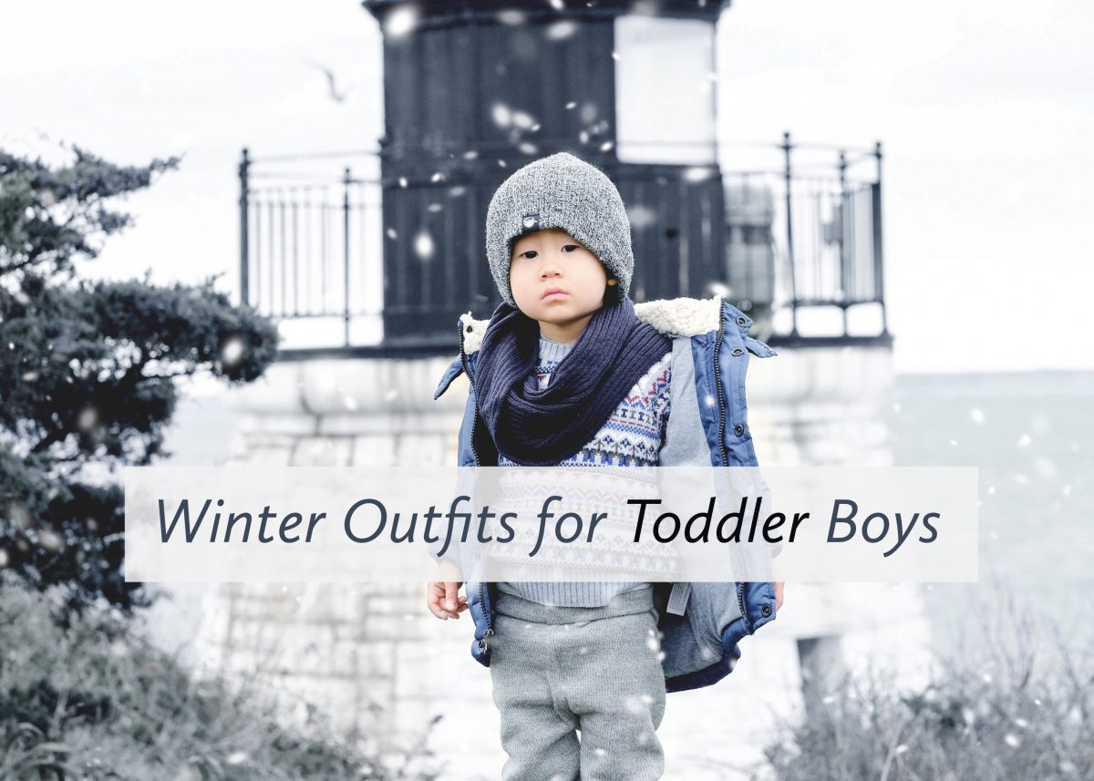 Winter Outfits for Toddler Boys Featured