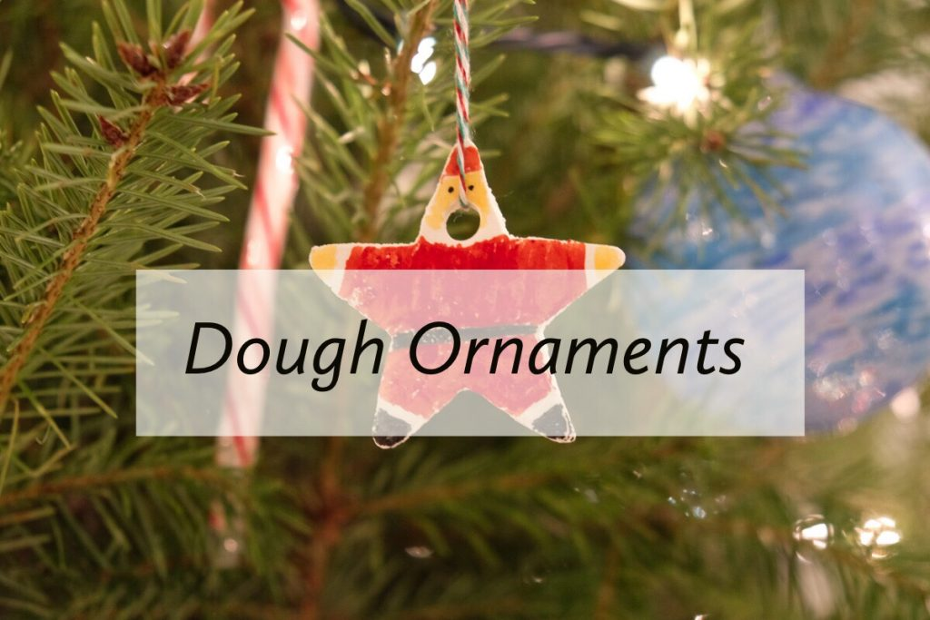 DIY Christmas Dough Ornaments