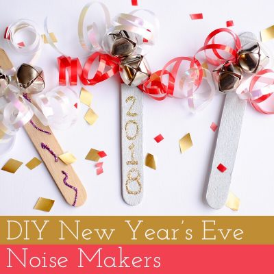 DIY New Year's Crafts – New Year's Eve Noise Makers