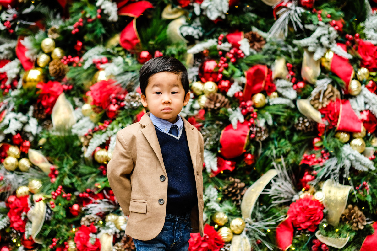Dashing Holiday Outfits for Boys - Meet Santa