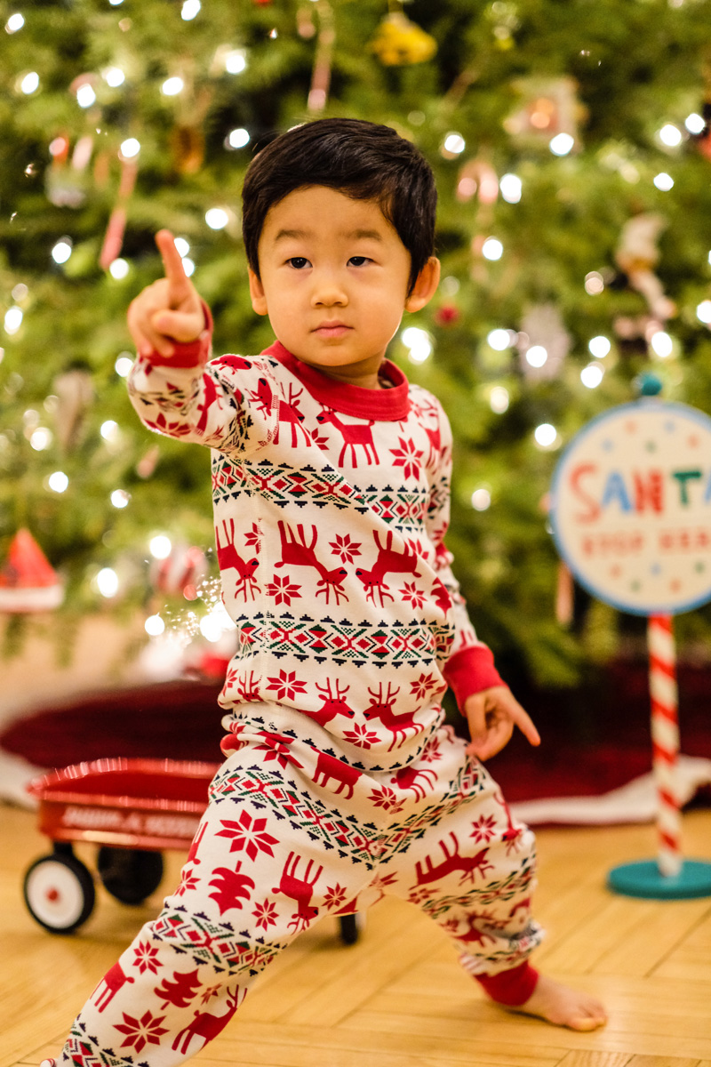 Winter Outfits for Toddler Boys - Toddler Holiday Pjs 1