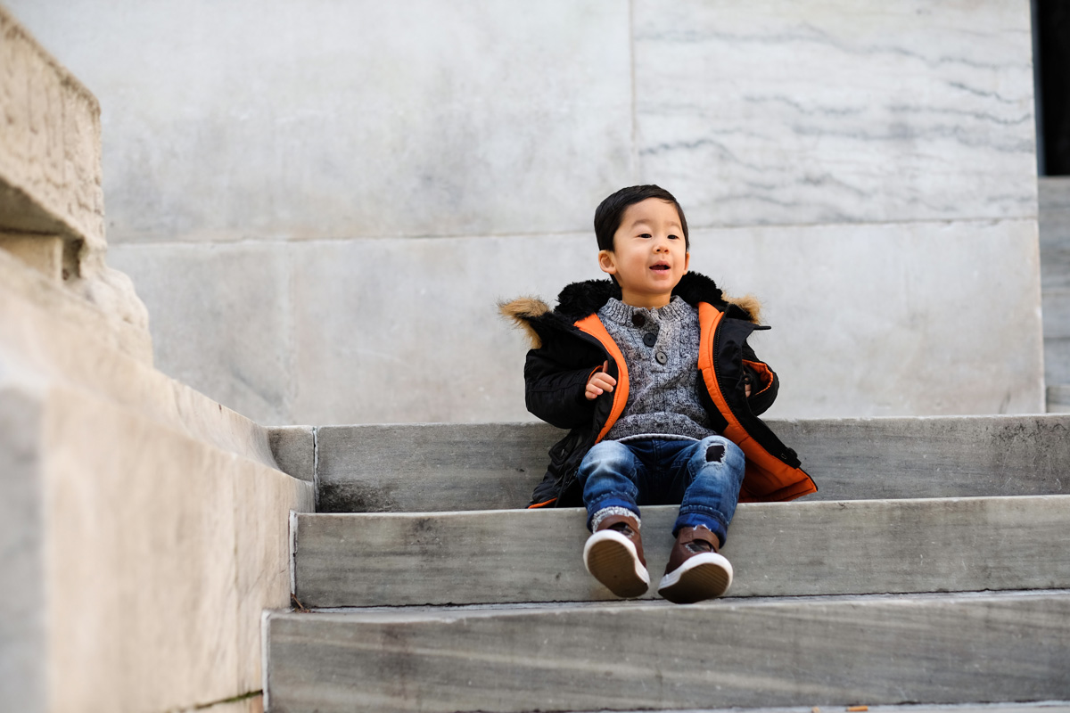 Winter Outfits for Toddler Boys - Look 1-2
