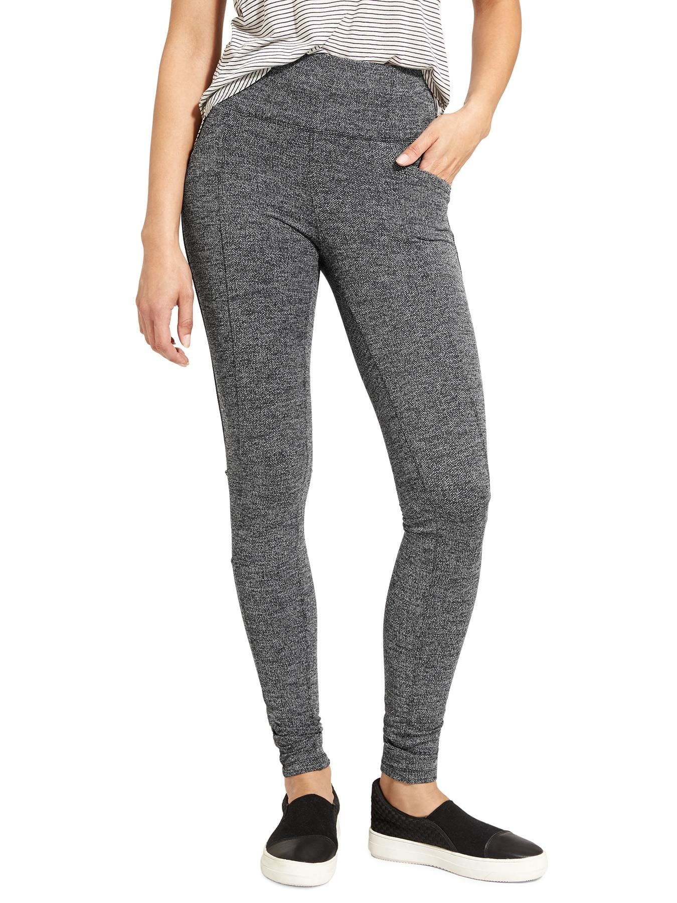 Athleta Herringbone Leggings