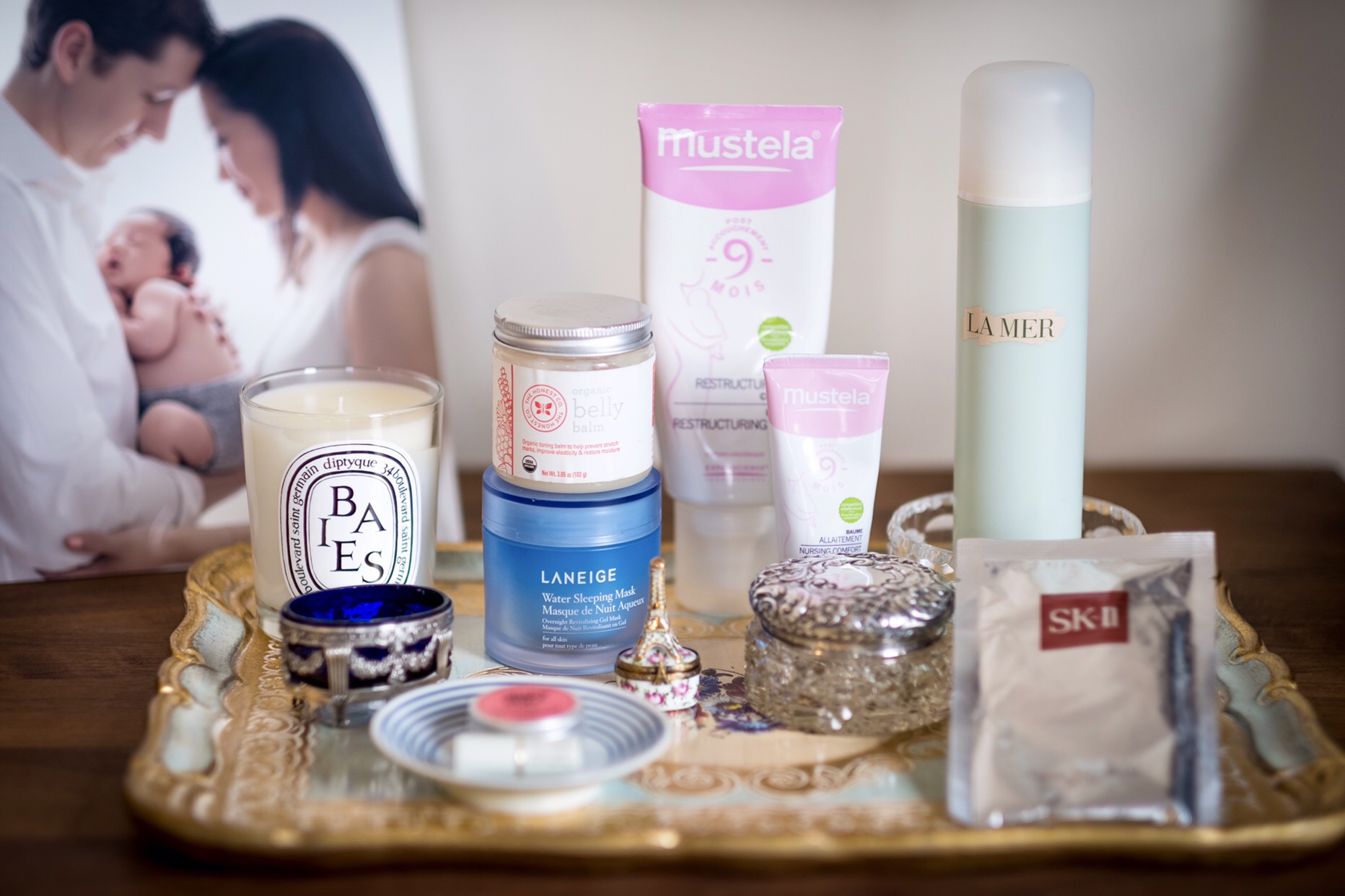 Maternity Must-Haves - Pregnancy-Safe Beauty Products - Maternity Beauty Products Tray