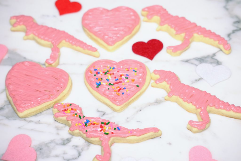 Valentine's Day Baking Sugar Cookies